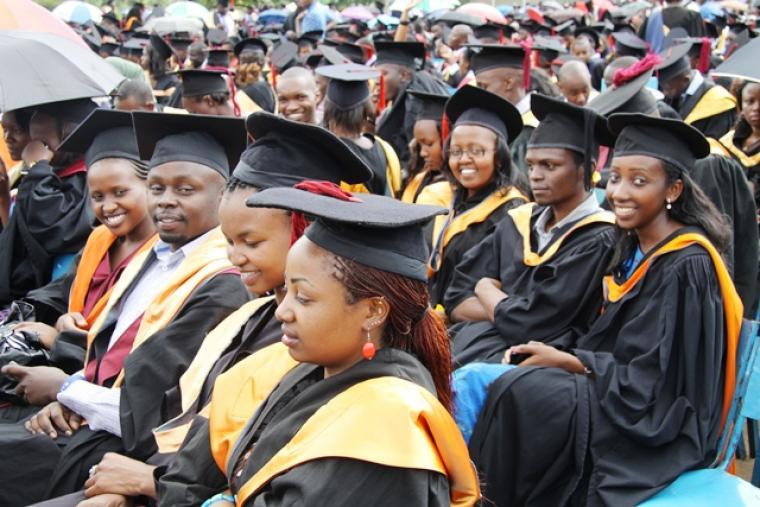 Egerton University 39th Graduation Ceremony
