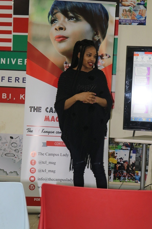 Janet Machuka at Her Seminar