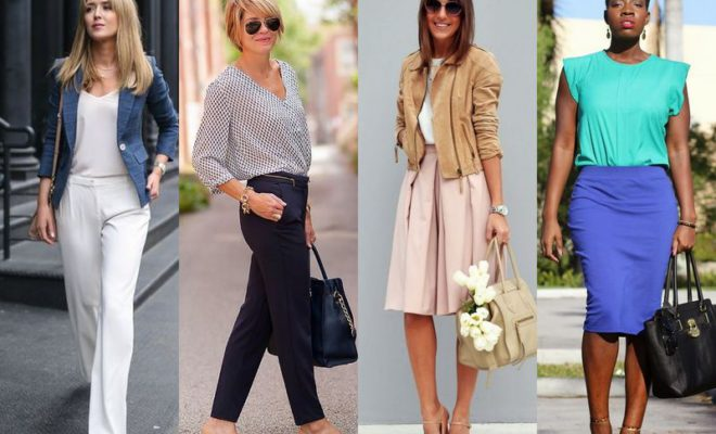 Business casual outfits for campus ladies