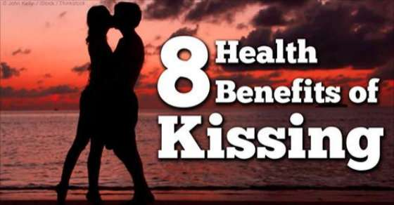 Health Benefits of Kiss
